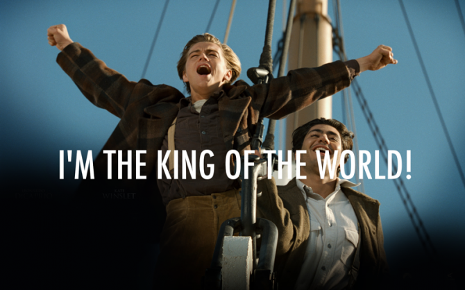 Le roi du monde