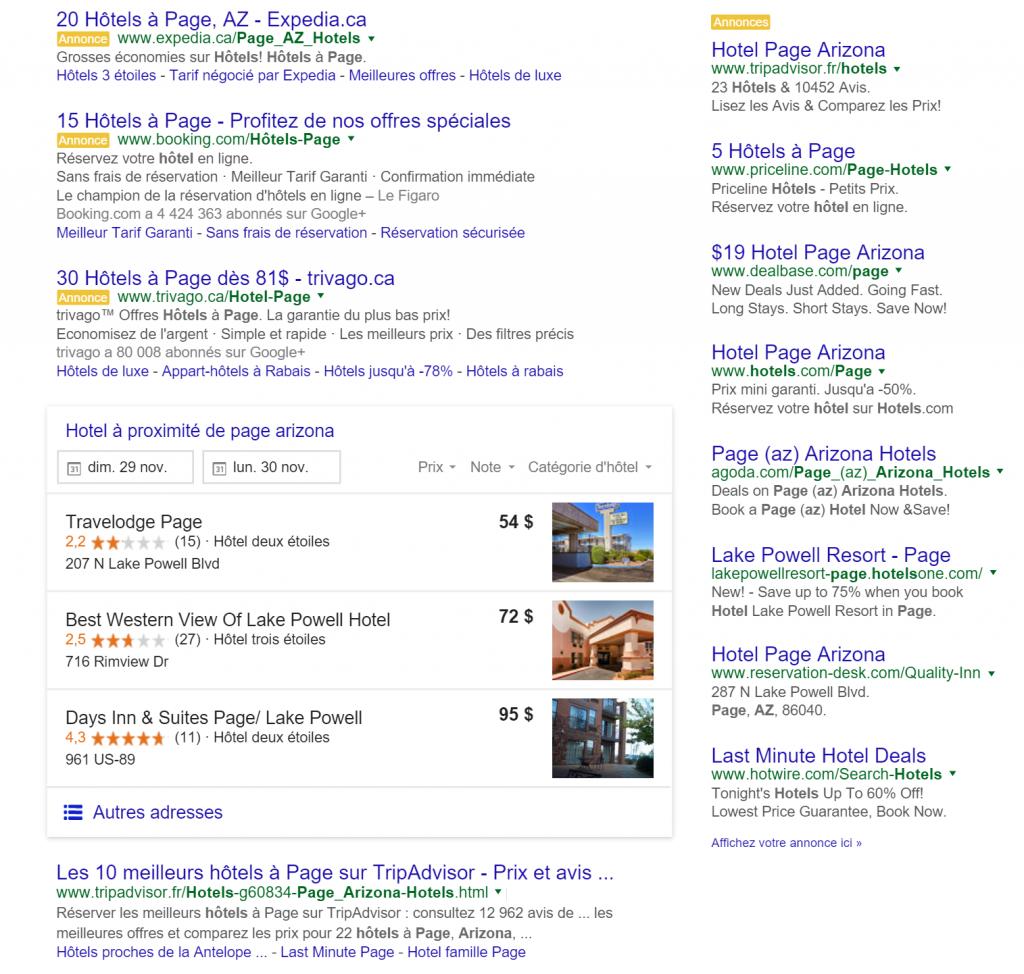 comparateur-hotel-google