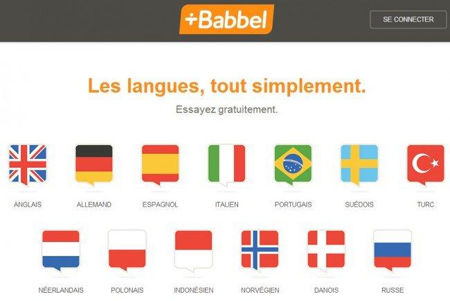 babbel apprendre langlais