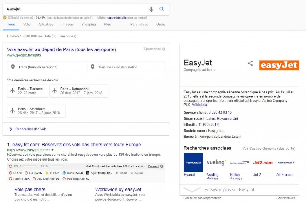 Ca y est google abuse clairement de sa position dominante et c est moche blog e commerce - Google comparateur de vol ...