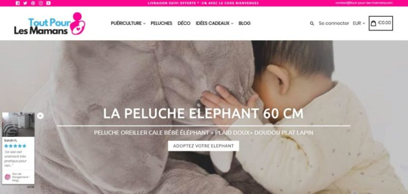 exemple-site-dropshipping-puericulture
